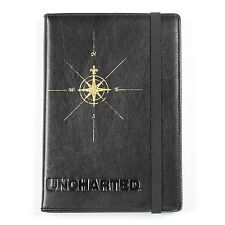 Uncharted Compass Rose Ruled Leather Notebook Journal SEALED Naughty Dog