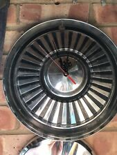 Vintage Clock Stainless Steel Hub Cap Wheel Trim