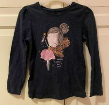 Girls long-sleeved top size 5-6