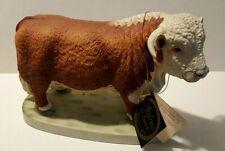 New ListingAndrea by Sadek Hereford Bull Figurine 7871 Figurine Collectible w tags - Japan