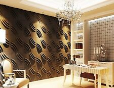 3D Wall Panel (Ripple-D) 1 carton contains 48 panels covering 128 sq/ft (sale)