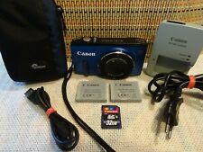 Canon PowerShot SX270 HS 12.1MP-20x Opt.Zoom -Full HD Schwarz-BLAU*Top Zustand