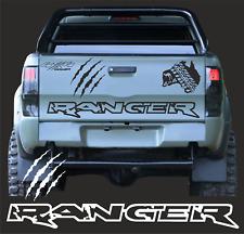 1x Ranger Kratzer Aufkleber 130cm Rand Pick UP Ranger 4 x 4 Passt für Ford 2AB