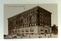 St Paul Minnesota YMCA Building Vintage Cars Postcard