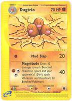 Pokemon Card - Expedition 44/165 - DUGTRIO (rare) - NM/Mint