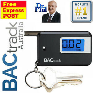 Breathalyser. Alcohol Breath Tester - BACtrack Keychain. MICRO® SEMI-CONDUCTOR