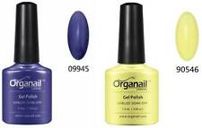 2X Vernis a ongle semi-permanent Jaune de soleil+ Grape Gum Raisins
