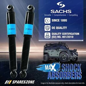 Rear Sachs Max Shock Absorbers for Nissan Navara D23 NP300 Pathfinder WD21