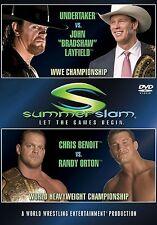 WWE Summerslam 2004 DVD NEU
