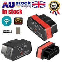KW903 ELM327 WiFi OBDII OBD2 Car Diagnostic Scanner Code Reader for d2