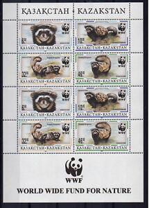 1997 Kazakhstan WWF The Marbled Polecat  MNH