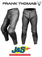 Frank Thomas Knee Men's Leather Motorcycle Trousers