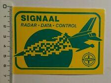 Aufkleber/Sticker: Signaal Radar Data Control (09071687)