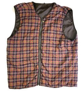 Rodd And Gunn Mens Plaid Vest Insert Size 3xl
