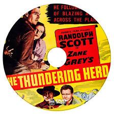 BUFFALO STAMPEDE - reissue of THE THUNDERING HERD - Randolph Scott  - 1933 - DVD