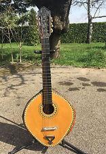 Guitare Vintage  Instrument du Monde avec carapace d'animal  old guitar