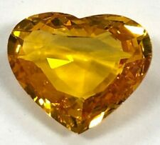 4.07 Ct. Heart Shape Brilliant Cut Yellow Sapphire, Burma, With GIA Certificate
