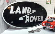 Aluminium Solihull Land Rover Series 3 Defender Hi-Cap Rear Tub Badge MTC4460