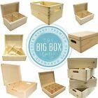 Premium Quality Wooden Boxes Gift Keepsake Laser Blanks CHRISTMAS XMAS EVE BOX