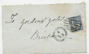 1900 Southwood Cover to Brisbane Numeral 381;Datestamp New Years Day 1901