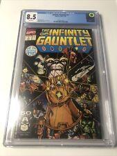 The Infinity Gauntlet #1 CGC 8.5 Series Stan Lee MCU Marvel Movie Comic