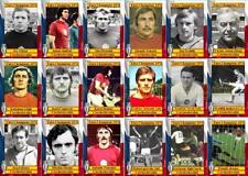 Czechoslovakia 1976 European Championship winners football cards Euro 1976