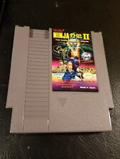 Ninja Gaiden II 2 for NES Nintendo  Great Tecmo