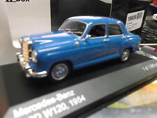 MERCEDES BENZ 180 D W120 blau blue 1954 Ponton NEW NEU IXO White Box 1:43
