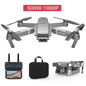 2.4GHz E68 Drone Quadcopter WiFi 4K HD 1080P 720P Camera Foldable APP Control