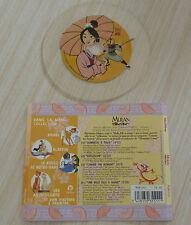 CD (NO BOX )WALT DISNEY CHANSONS MULAN MES CHANSONS PREFEREES 4 TITRES 1998