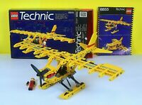 LEGO Classic Technic Prop Plane 8855 with Box Instructions and Inner Tray