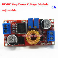 5A DC-DC CC CV Buck Step Down Converter 5V 9V 12V 24V Battery Charger LED Driver