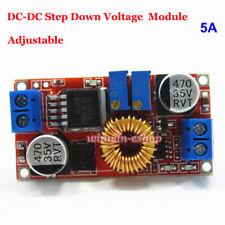 5A DC Constant Current Voltage Buck Adjustable Converter 5V 12V 24V LED Driver