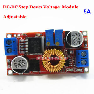 5A DC-DC Buck Step Down Converter 5V 12V 24V Constant Current Voltage LED Driver