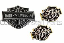 Ford Super Duty Harley Davidson Rear Tailgate Emblem and Headrest Push Pin Pair