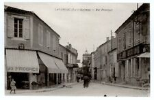 (S-61818) FRANCE - 47 - LAVARDAC CPA CAFE - RUE SANS ANIMATION     TUJA ed.