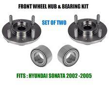 Front Wheel Hub And Bearing Kit Assy For Hyundai Sonata  2002-2005  SET OF TWO