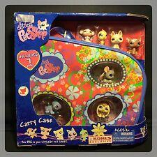 Littlest Pet Shop Kohl's Exclusive Carry Case w/ 7 Pets #1164 - 1170 Mocha Cat