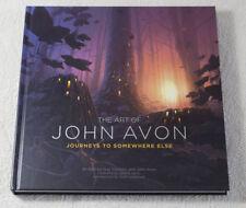 Journeys to Somewhere Else - The Art of John Avon w/ 3 Signed Art Prints (MTG)
