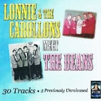LONNIE AND THE CAROLLONS - MEET THE DEANS  CD NEW
