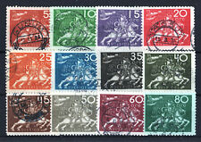 """SUEDE STAMP YVERT N° 178 / 189 """" UPU 12 TIMBRES """" OBLITERES TB A VOIR T011"""
