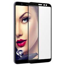 Protecteur d'ecran en verre trempée pour Samsung Galaxy A6 2018 (A600) - noir