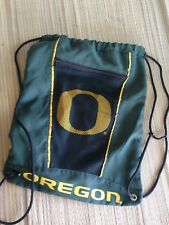 Nike Oregon Ducks Green Gym Sack backpack Free Shipping Us Seller