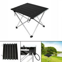 Outdoor Folding Portable Patio Side Table Small Lightweight Camping Party Garden