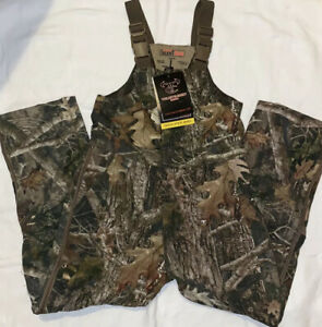 Youth Size Large Red-Head Insulated Camo Bibs New With Tags