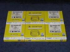 6x Kolbenringe Goetze Opel 3,0L X30XE beschichtet Turbofest Omega B  Sintra