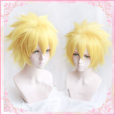 Game Anime Final Fantasy VII FF7 Giotto Cloud Strife Cosplay Wigs Hairpieces