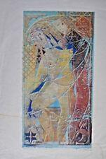 Handsignierte Kunsthändler Farbholzschnitt