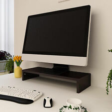 Wood TV Computer Monitor Riser LED Screen Laptop Stand Shelf Desktop Neckprotect