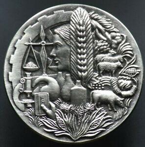 Médaille ASSOCIATION NATIONALE DES INDUSTRIES AGRO ALIMENTAIRES - 1982 - FRANCE